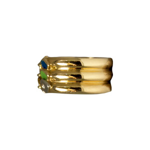 Gouden Emaille Ring