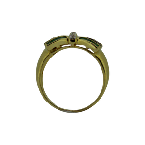 Geelgouden Princess Strik Ring