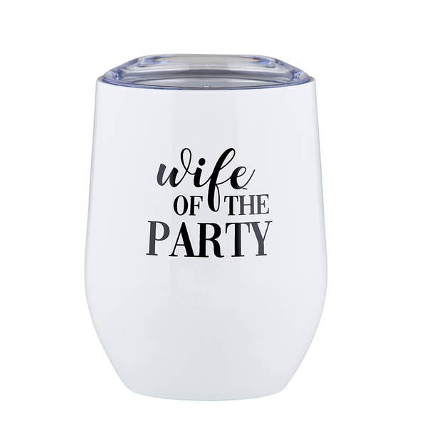 Wife of The Party Tumbler