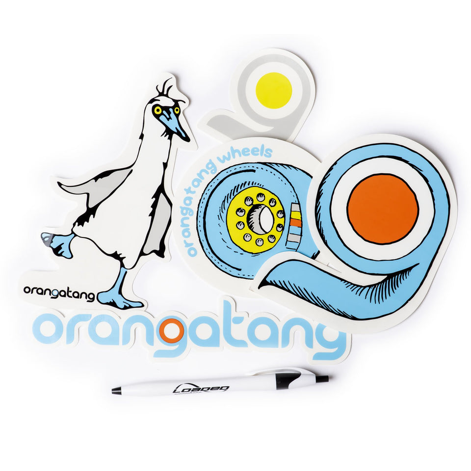 Orangatang Sticker Pack