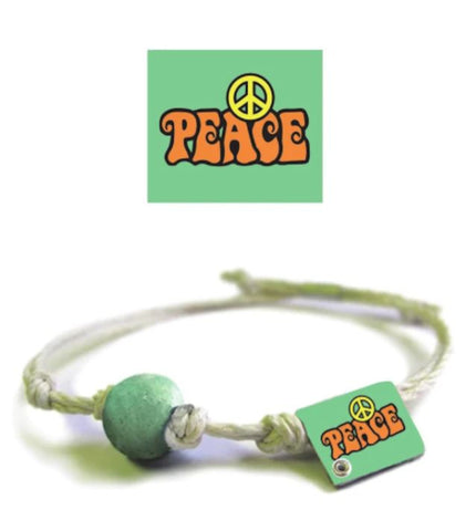 Natural Hemp Custom Jewelry Eco Friendly Handmade with Earth /& Sand Vegan Boho Chicago Illinois Earth Bands Bracelet or Anklet