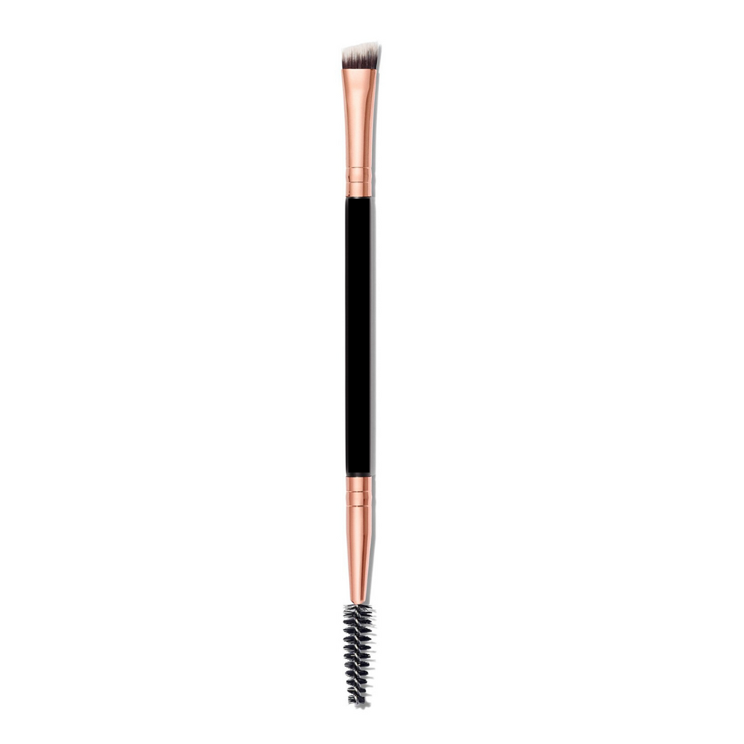 Limited Edition Rose Gold Dual-Ended Brow Brush