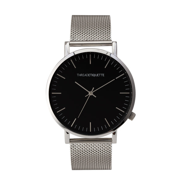Classic - Silver Mesh Timepiece