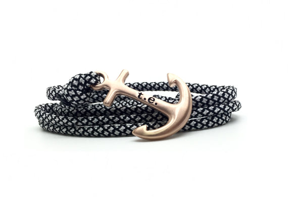 Basic Rose Gold Anchor Bracelet