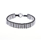 Stacks - Black & Silver Bracelet
