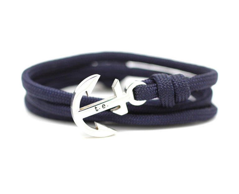 Luxury - Yachtmaster Navy Anchor Bracelet