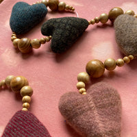 50mm Wool Heart Window Charm
