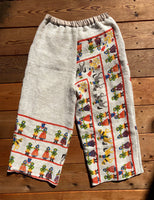 Vintage Tablecloth Pants
