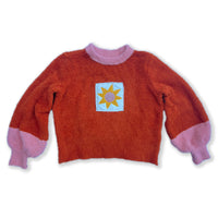 Sun Patch Sweater