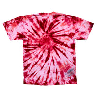 Hand dyed & painted Rose T
