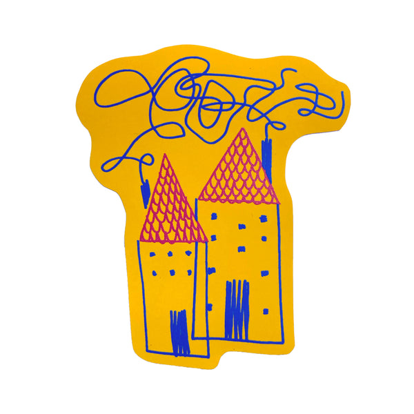 Houses (single sticker)