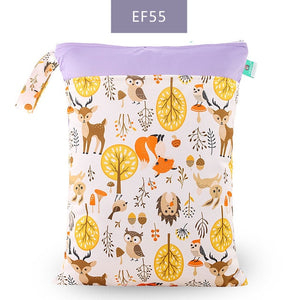 Reusable Waterproof Fashion Nappy wet Bags