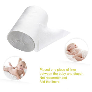 Baby Flushable Biodegradable Disposable Cloth Nappy Diaper Insert
