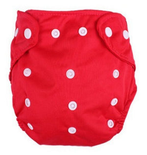 Waterproof Solid Color Baby Diapers