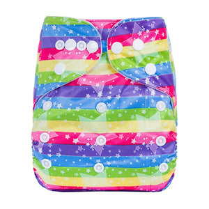 Digital Print Reusable Baby Nappies