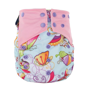 Cloth Diaper mixed pattern