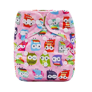 Pocket  Baby Cloth Diaper With 1pc Microfiber Insert