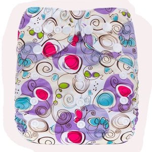 Printed Baby Diapers Washable Pocket Diaper