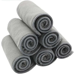 10pcs Quality Baby Nappies Bamboo Charcoal Liner