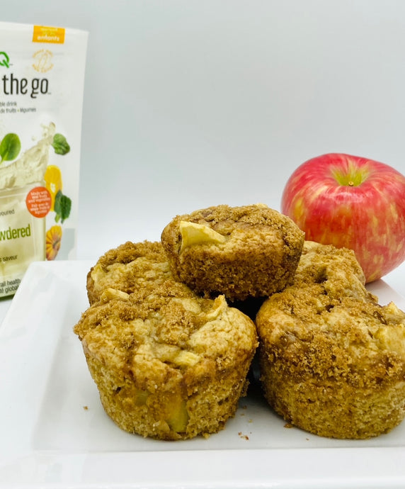 Empowdered Apple Muffins