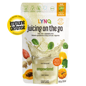 Lynq Fruit and Vegetable Powder Blend for Overall Health, Non Flavored