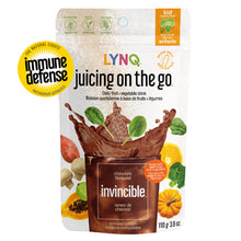 Load image into Gallery viewer, Lynq Invincible Fruit and Vegetable Powder for Immune Boosting, Chocolate Flavor
