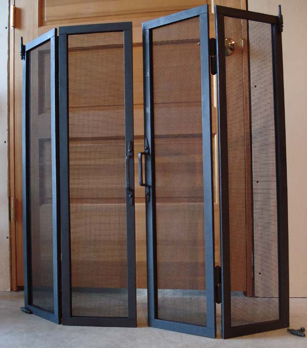 Bi-fold Metal Screens or Doors