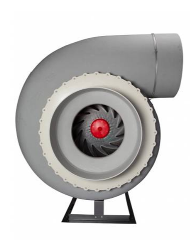 Plastec 50 Direct Drive Forward Curve Polypropylene Blower
