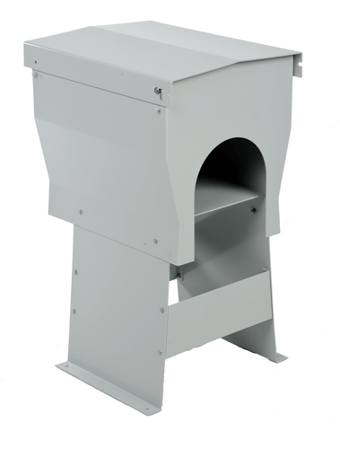 Aluminum Weather Hood Enclosed Pedestal
