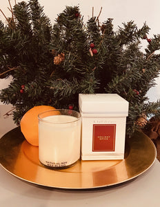 K. Hall Designs Jar Candle- Holiday Spice