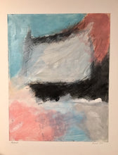 "Load image into Gallery viewer, Painting ""Air Mail"" Acrylic and graphite on paper 24"" X  40"""