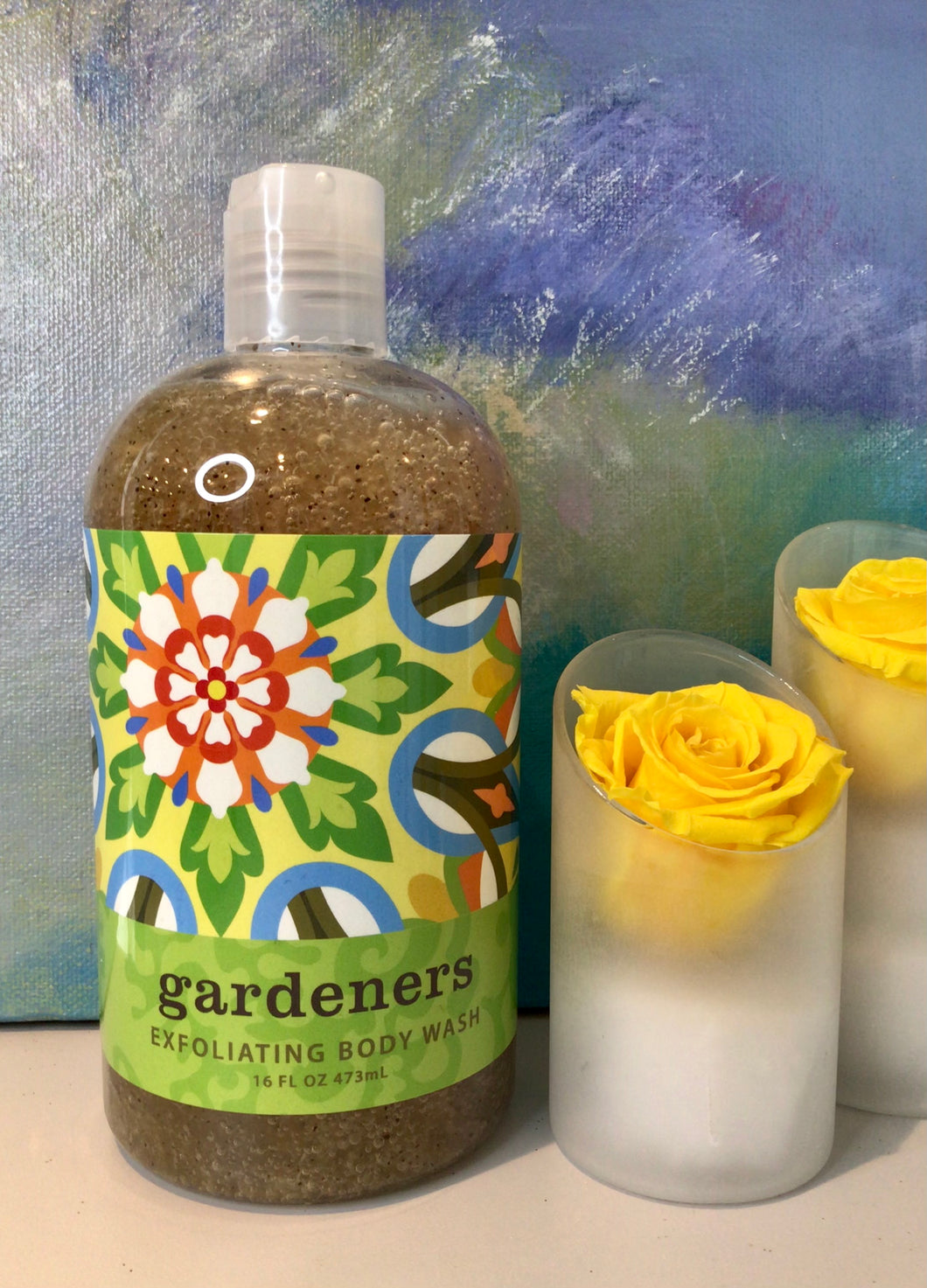 Greenwich Gardeners Exfoliating Body Wash