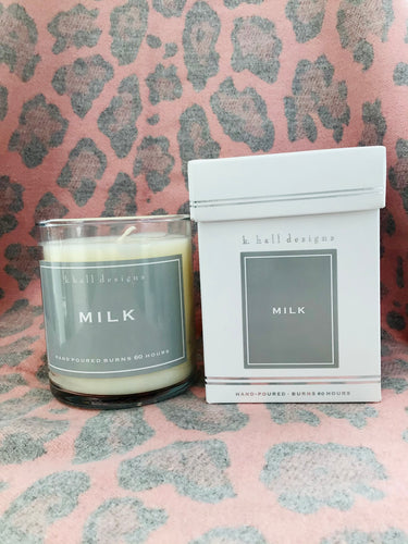 K. Hall Designs Milk Jar Candle