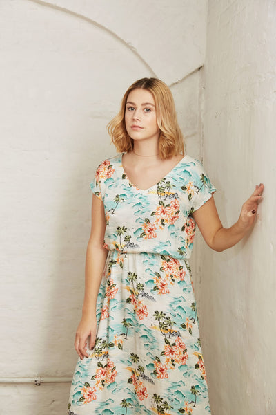 Poppy & Cara summer dress - Paper pattern