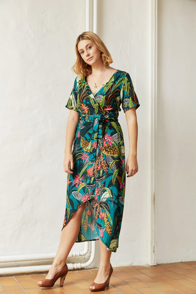 Savannah wrap dress - PDF pattern