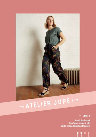 Emily trousers - Paper pattern