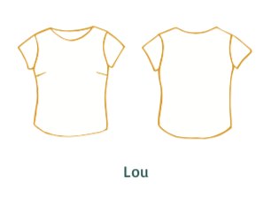 2 in 1 - Charlotte & Lou - dress & top - Paper pattern