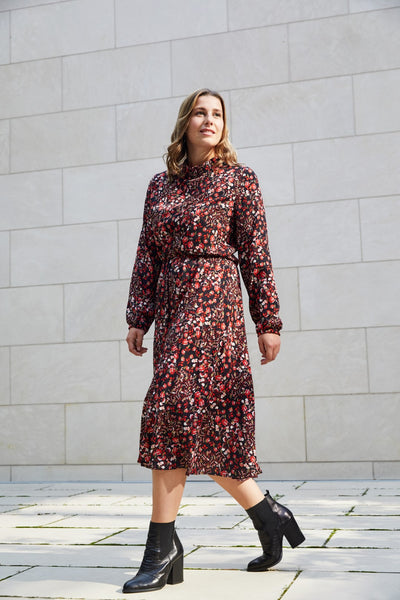 Sienna winter dress - PDF pattern