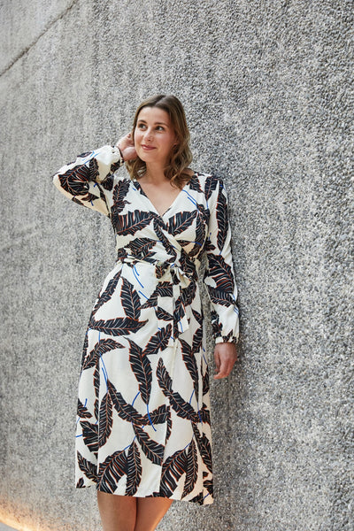 Savannah wrap dress - Paper pattern