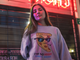 SO HIGH PIZZA SLICE Crewneck Sweatshirt - Stoner Point