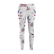 USA CANNABIS Leggings - WHITE - Stoner Point