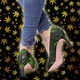 DIAMOND 420 CANNABIS High Heels - Stoner Point