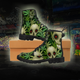 STONER SKULL Canvas Boots - Stoner Point