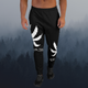 Slim fit BLACK Men's LEGALIZE Joggers - Stoner Point