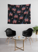 WEED USA Wall Tapestries - BLACK - Stoner Point
