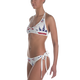 USA CANNABIS Bikini - WHITE - Stoner Point