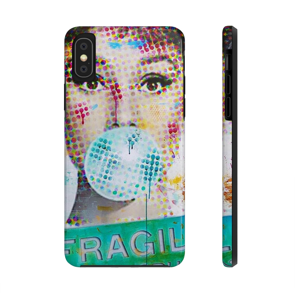 AUDREY BUBBLEGUM© Tough Mate Phone Case - STUDIO ART STREET