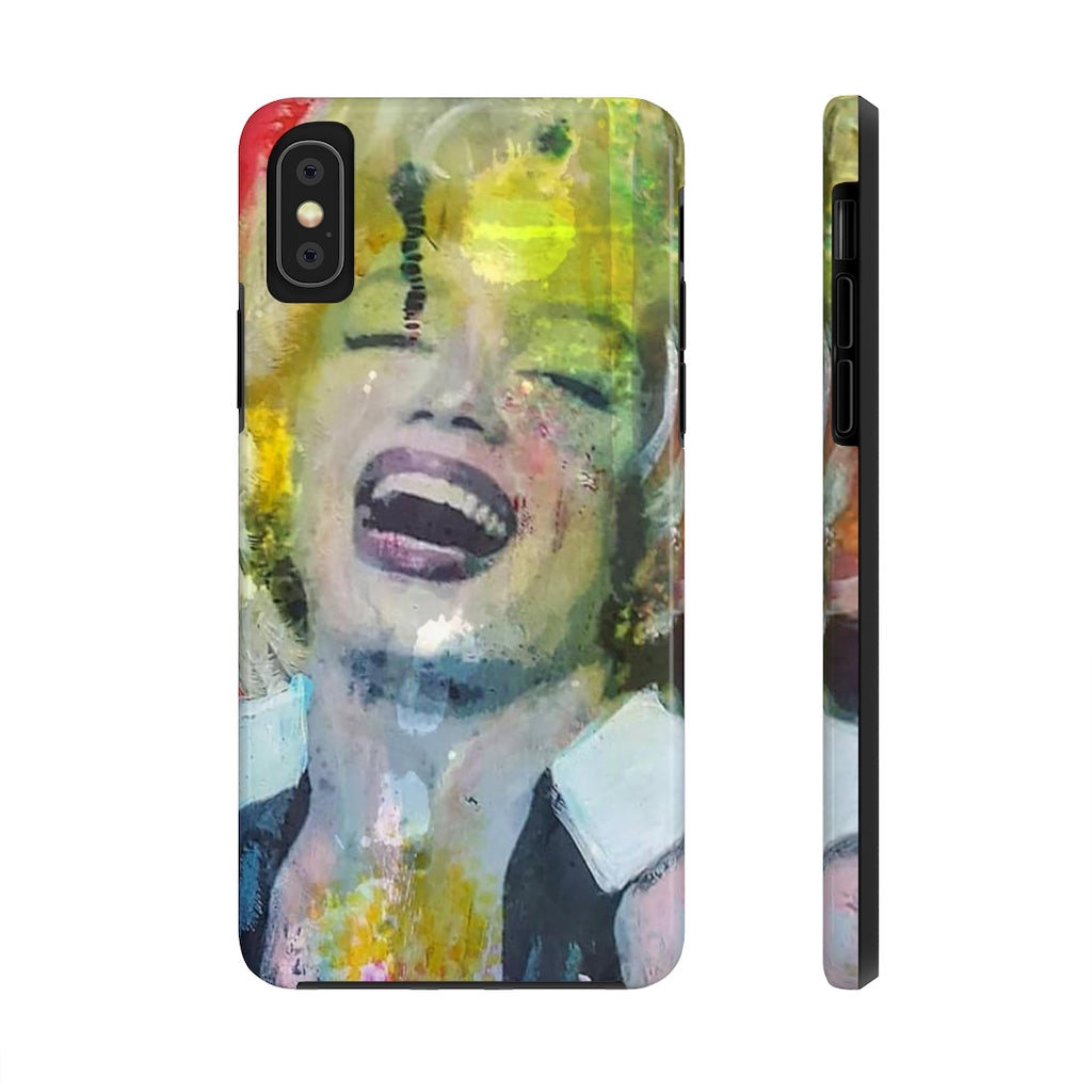 MARLYN RED© Tough Mate PhoneCase - STUDIO ART STREET