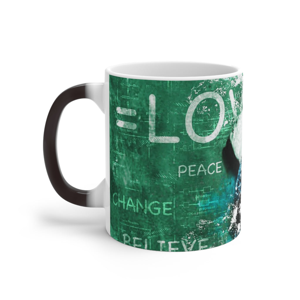 EINSTEIN LOVE© Changing Mug - STUDIO ART STREET
