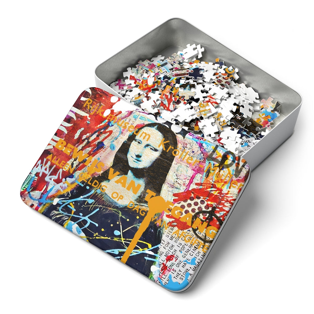 MONA LISA (252 Piece Puzzle)